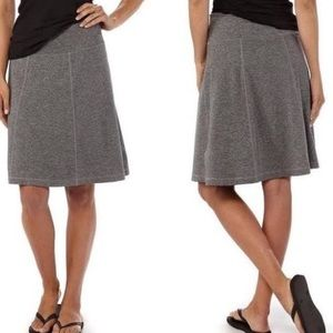 Patagonia heather gray Seabrook skirt large
